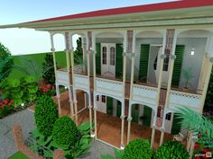Planner 5D - Baton Rouge, i adore these houses, really wanted to concentrate on getting the verandah how i really like it. took ages to do, ready to move into.