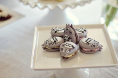 clottedcreamscone:  Totoro Macarons! by L' Atelier Vi on Flickr.  http://ohmyneighbourtotoro.tumblr.com/post/33031393942/clottedcreamscone-totoro-macarons-by-l