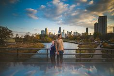 Reflections-Chicago-Skyline-ENgagement