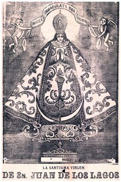 """11""""x 14"""" Poster. """" Virgen de San Juan de Lagos """" Mexican Poster. Decor with Unusual images. Great wall Decoration. Perfect for your home or office. , http://www.amazon.com/dp/B006Z8NW9W/ref=cm_sw_r_pi_dp_PCVPqb15YAVDA"""