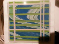 Latticed Art Glass