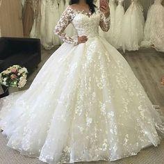Cheap wedding dresses 2017,Long Sleeve Wedding Dresses, Wedding