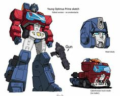 Young Optimus Prime/Orion Pax Concept Work from Guido Guidi Ironhide Transformers, Transformers Prime, Alien Vs Predator, Thundercats, Gi Joe, Gundam, Transformers Generation 1, Cartoon Costumes, Transformers Characters