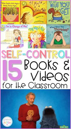 Teachers can use these 15 self-regulation and self-control books and videos for the classroom to teach kids to calm down, self-regulate, and manage their behavior during social-emotional learning lessons and activities with kids along with yoga, breathing exercises, and using a calm down kit.