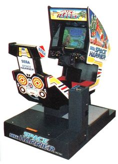 Space Harrier (1985) SEGA - Another of my favorite arcade games