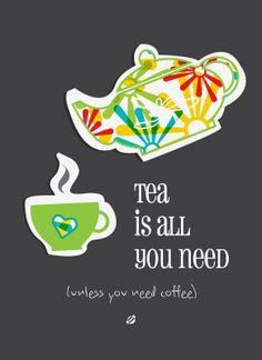 LostBumblebee: El Té es TODO Lo Que need ... A Menos Que necesite el café.