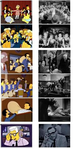 The Simpsons references... Citizen Kane and Miracle on 34th Street...