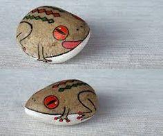 Resultado de imagen de pinterest manualidades imagenes en piedras