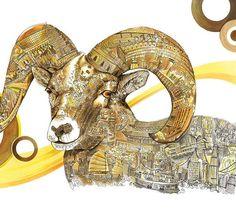 Big horn sheep (2014) #ahleung #unrealrecord #cozyfish #artworks #artwork #drawing #illustration #original #watercolor #lineart #penart #instaart #artpalooza #artshaper #featuregalaxy #realcreativeart #doodle #doodleart #arrtposts #culture #sheep #animal #chinesenewyear #hongkong #taiwan #macau #china #greatwall