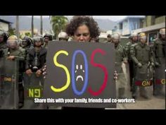 Do you know why Venezuelans are protesting?  Be our voice.  S.O.S Venezuela