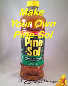 2 Cups Of Water 8 Drops of Pine Scented Oil 4 Drops Of Cedar Scented Oil 2 Teaspoons Of Borax Spray bottle  (via American Craft Endeavors)