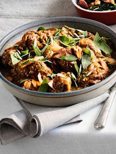 Roman-style lamb with rosemary, sage and anchovy - Gourmet Traveller