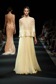 ANDREA JANKE Finest Accessories: 'Dame de Lys' by Georges Hobeika Fall 2013 Couture #GeorgesHobeika #HauteCouture
