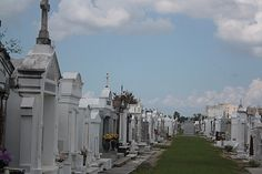 Saint Louis Cemetery in New Orleans dates back to 1789 and is often considered among the most haunted cemeteries in the United States. This is probably because of the above-ground mausoleums, vaults and crypts, plus the fact that it's the rumored resting place of voodoo priestess Marie Laveau.