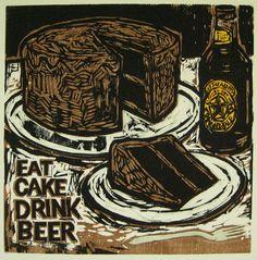 eat cake drink beer
