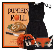 """Pumpkin Roll"" by lulurose98 ❤ liked on Polyvore featuring Yumi, Steve Madden and Bling Jewelry"