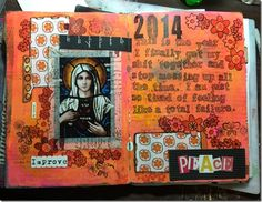 Peace art journal