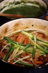 Stufat de iepure. Romanian Food, Pork