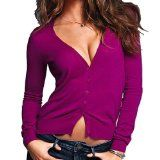 #5: Sexy Cardigan Sweater Knit V Neck Long Sleeves in Multiple Colors - http://ec2-184-73-114-131.compute-1.amazonaws.com/wordpress/5-sexy-cardigan-sweater-knit-v-neck-long-sleeves-in-multiple-colors/