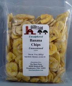 Unsweetened Banana Chips 8 oz *** Check out this great product.