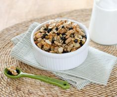 This blueberry pecan paleo granola is super-fast — and it's gluten-free and grain-free. Try it for breakfast or as a grab-and-go snack any time of the day.