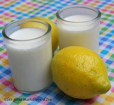 Du yogourt au citron... à essayer?