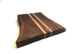 Live Edge Black Walnut Cutting Board - K. Heaton Design