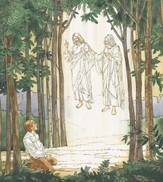 Joseph Smith and the First Vision power point lesson with video and music included