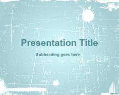 Cyan Abstract PowerPoint Template is a free clean and light PowerPoint template background with white ink effect
