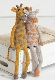 Noahs Ark - Giraffes in Sirdar Cotton DK. Free Patterns by Sirdar at LoveKnitting. The world's largest range of knitting supplies - we stock patterns, yarn, needles and books from all of your favorite brands. Knitting For Kids, Baby Knitting Patterns, Free Knitting, Crochet Patterns, Knitting Yarn, Knitting Supplies, Knitting Projects, Giraffe Pattern, Knitted Animals