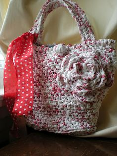 The Crochet Foyer: Why Plarn?
