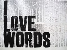 """Sung, spoken, heard, thought, written and read; as Kipling wrote, """"Words are the most powerful drug used by humankind."""""""