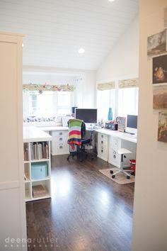 Deena Rutter Home Tour Part 1- Garage Conversion to Home Studio