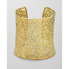 Kendra Scott Ainsley Cuff, Gold $150