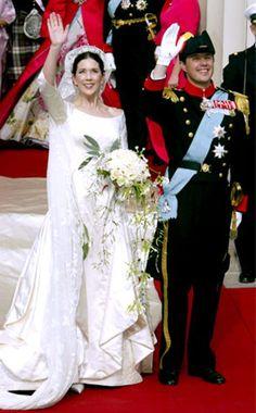 Prins Frederik en prinses Mary van Denemarken.