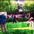 Gorgeous day with fabulous racehorses in the paddock before the race. Every day life in Lexington KY. #lexington #kentucky #horses #racing #thoroughbreds #kentuckyhorsefarm # lizetteart #lizette fitzpatrick #art #photography #spring