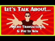 Let's Talk About: Microtransactions & Pay to Win Tips!  GADGET STUFF  http://deals.lockergnome.com/ PODCAST    http://anchor.fm/chrispirillo TLDR   https://youtube.com/lockergnome/live Patreon  https://www.patreon.com/ChrisPirillo Twitch  https://www.twitch.tv/chrispirillo Click the  icon to get notified for new https://youtube.com/lockergnome & https://youtube.com/chrispirillo videos ASAP!   https://twitter.com/ChrisPirillo  https://instagram.com/ChrisPirillo…