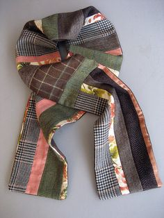 2nd Patchwork scarf by Handpicked, via Flickr