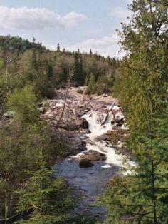 Baldhead River Falls, Lake Superior Provincial Park, Ontario Ontario Provincial Parks, Discover Canada, Vacation Destinations, Vacations, Just Dream, Lake Superior, Great Lakes, Landscape Photography, National Parks
