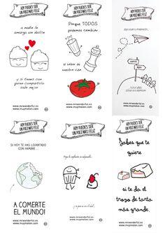 ¡Mira cuántas razones tienes para ser un poquito más feliz hoy! #quote #infographic #motivation www.mrwonderfulshop.es