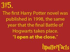 NOTE: Sorcerer's Stone was published in 1998 in the UNITED STATES. It was published in 1997 in the UNITED KINGDOM.
