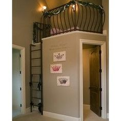 So cute for kid's rooms!! Loft of top of the walk-in closet...a great play place!