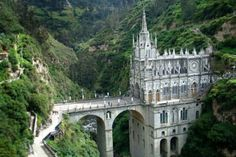 Las Lajas Katedra (Kolumbia, Ameryka Południowa)