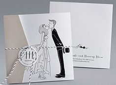 Faire Part De Mariage Promesse Champetre By Marion Bizet Pour Www