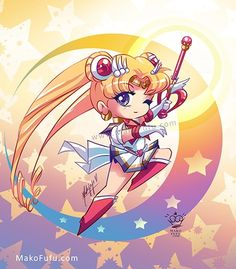 Cheer Up Your Day With Some Chibified Sailor Moon Fanart | Page 2 | The Mary Sue