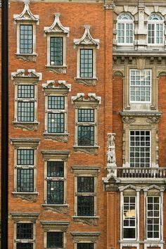 Geometric Windows, Brussels, Belgium