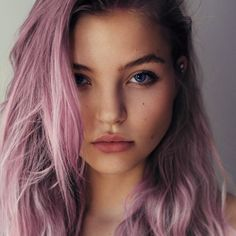 These 20 Purple Hairstyles Will Make You Want to Dye Your Hair via Brit + Co