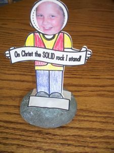 On Christ the Solid Rock I Stand.