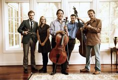 goat rodeo sessions players: stuart duncan, yo-yo ma, edgar meyer, chris thile, and aoife o'donovan