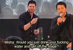 [GIF] ''Would you just drink your f*cking water and get off the stage?''